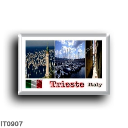 IT0907 Europe - Italy - Friuli Venezia Giulia - Trieste Mosaic