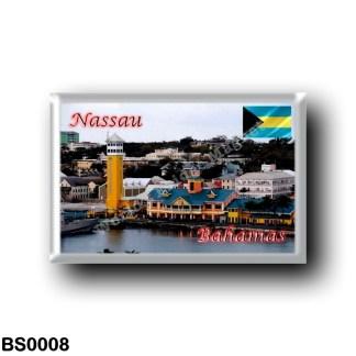 BS0008 America - The Bahamas - Nassau - Cruise Ship Terminal