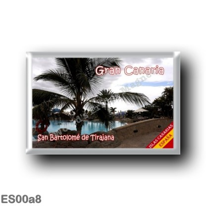ES00a8 Europe - Spain - Canary Islands - Gran Canaria - San Bartolomé de Tirajana
