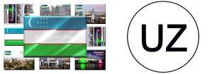 UZ - Uzbekistan