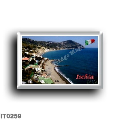 IT0259 Europe - Italy - Campania - Ischia Island - Maronti Beach