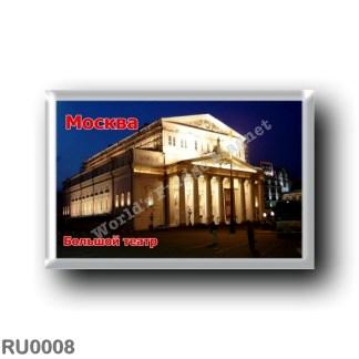 RU0008 Europe - Russia - Moscow- Bolshoi Theatre