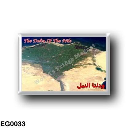 EG0033 Africa - Egypt - Red Sea - Nile Delta - Satellite