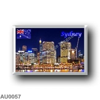 AU0057 Oceania - Australia - Sydney - Darling Harbour by Night