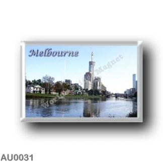 AU0031 Oceania - Australia - Melbourne - Alexandra Gardens Boathouses