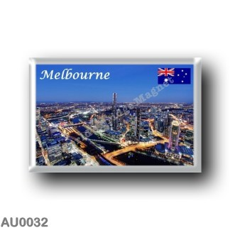 AU0032 Oceania - Australia - Melbourne - By Night