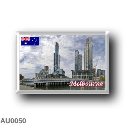 AU0050 Oceania - Australia - Melbourne - Queens Bridge