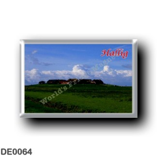 DE0064 Europe - Germany - Friesische Inseln - Frisian Islands - Hallig