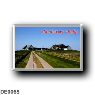 DE0065 Europe - Germany - Friesische Inseln - Frisian Islands - Hamburger Hallig