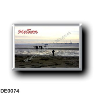 DE0074 Europe - Germany - Friesische Inseln - Frisian Islands - Mellum - Yachthafen