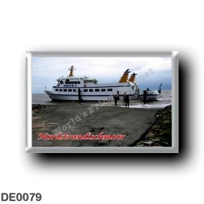 DE0079 Europe - Germany - Friesische Inseln - Frisian Islands - Nordstrandischmoor - Hafen