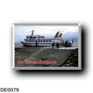 DE0079 Europe - Germany - Friesische Inseln - Frisian Islands - Nordstrandischmoor - Hafen