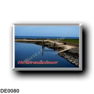 DE0080 Europe - Germany - Friesische Inseln - Frisian Islands - Nordstrandischmoor - Ufer