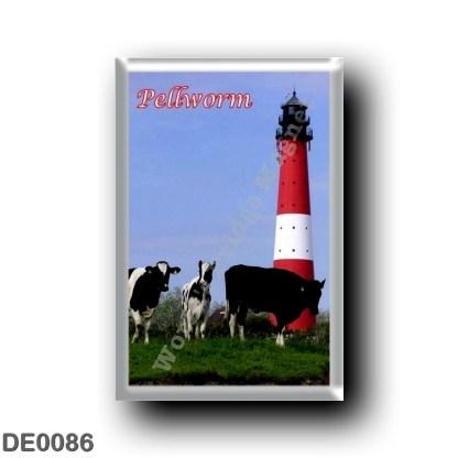 DE0086 Europe - Germany - Friesische Inseln - Frisian Islands - Pellworm - Leuchtturm