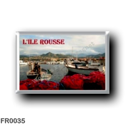FR0035 Europe - France - Corsica - Island - L'Ile Rousse - Rousse