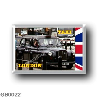 GB0022 Europe - England - London - Black cap Taxi