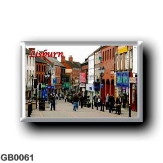 GB0061 Europe - Northern Ireland - Lisburn City Centre