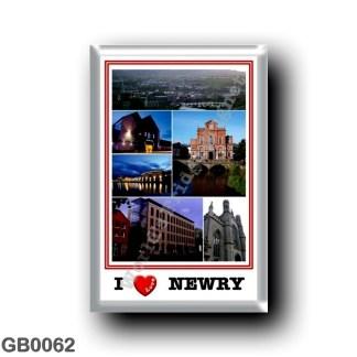 GB0062 Europe - Northern Ireland - Newry - I Love