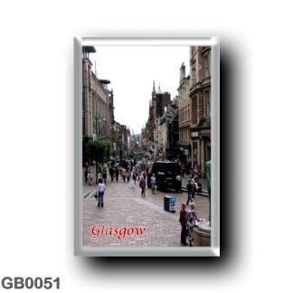 GB0051 Europe - Scotland - Glasgow - Buchanan Street
