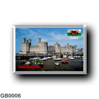 GB0006 Europe - Wales - Caernarfon Castle