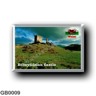 GB0009 Europe - Wales - Dolwyddelan Castle
