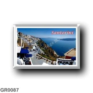 GR0087 Europe - Greece - Santorini - Thera - Thira - Firai - Panorama