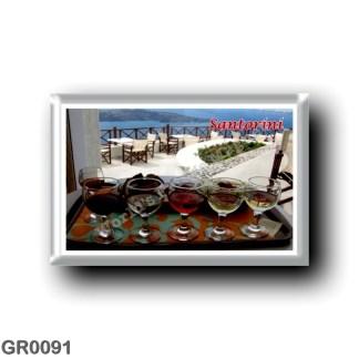GR0091 Europe - Greece - Santorini - Thera - Thira - Wine