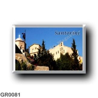GR0081 Europe - Greece - Santorini - Thera - Thira - Monastery