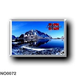 NO0072 Europe - Norway - Lofoten - Berg