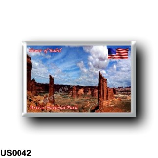 US0042 America - United States - National Park - Arches - Tower of Babel