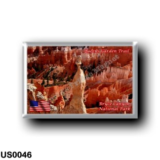 US0046 America - United States - National Park - Bryce Canyon - Queens Garden Traill