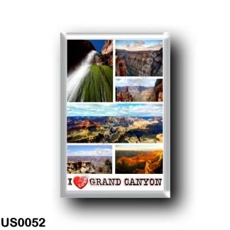 US0052 America - United States - National Park - Grand Canyon - I Love