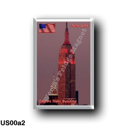 US00a2 America - United States - New York City - Empire State Building