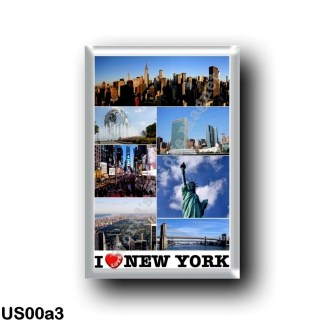 US00a3 America - United States - New York City - I Love