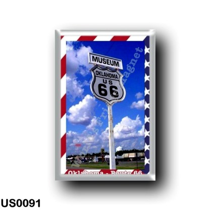 US0091 America - United States - Route 66 - Oklahoma