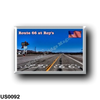 US0092 America - United States - Route 66 - Roy's