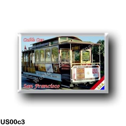 US00c3 America - United States - San Francisco - Cable Car