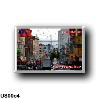 US00c4 America - United States - San Francisco - China Town