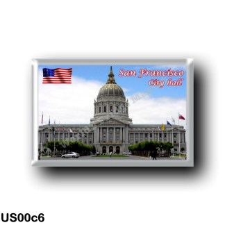 US00c6 America - United States - San Francisco - City Hall