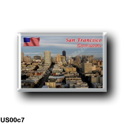 US00c7 America - United States - San Francisco - Downtown