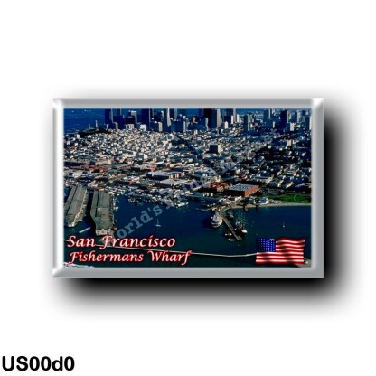 US00d0 America - United States - San Francisco - Fishermans Wharf