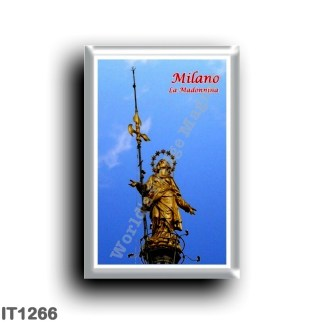 IT1266 Europe - Italy - Lombardy - Milan - La Madonnina