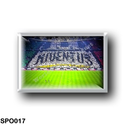 JUVENTUS - CHOREOGRAPHY AND FANS