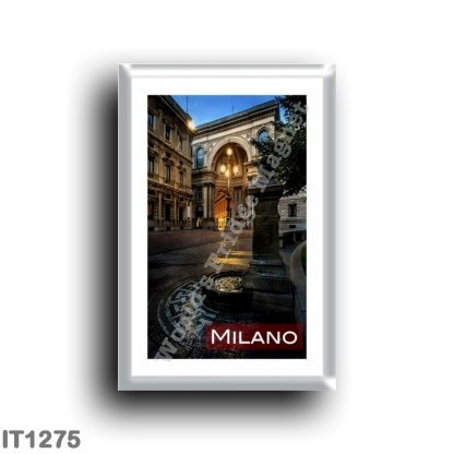 IT1275 Europe - Italy - Lombardy - Milan - Gallery