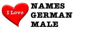I love names german male