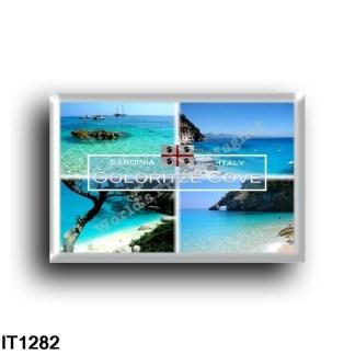 IT1282 Europe - Italy - Sardinia - Baunei - Cove Goloritzé - Panorama - National Park - National Arch