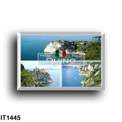 IT1445 Europe - Italy - Friuli Venezia Giulia - Duino - View - Castello dei Principi - Panorama