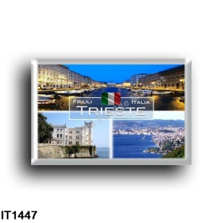IT1447 Europe - Italy - Friuli Venezia Giulia - Trieste - Miramare Castle - Panorama