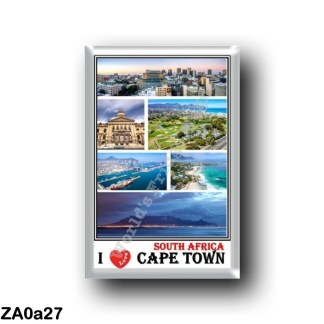 ZA0a27 Africa - South Africa - Cape Town CBD Strand Clifton beach Table Mountain Port of Cape Town Cape Town City Hall