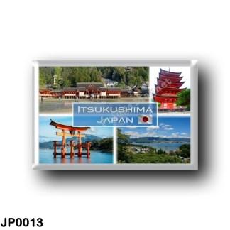 JP0013 Asia - Japan - Itsukushima - Miyajima - Itsukushima Gate - Five Tiered Pagoda - Itsukushima Shinto Shrine - Itsukushima j
